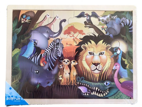 Puzzel Jungle Simply for Kids